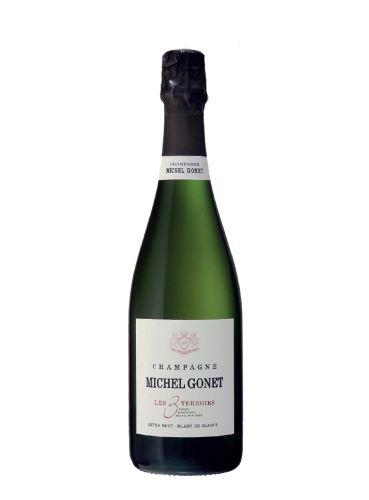 Champagne, Les 3 Terroirs, Extra Brut, 2013, Michel Gonet, 0.75l