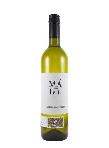 Veltlínské zelené, CLASIC, Zemské, 2019, František Mádl - Malý vinař, 0.75l