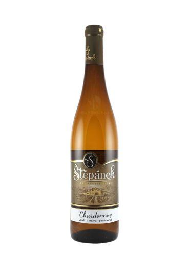 Chardonnay, Výběr z hroznů, 2019, Vinařství Štěpánek, 0.75l