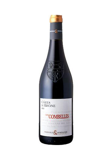 Côtes du Rhône Rouge, BIO, AOP, 2019, Les Combelles, 0.75l