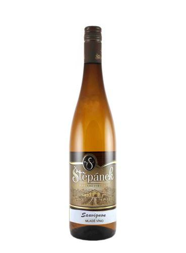 Sauvignon, Mladé víno, 2020, Vinařství Štěpánek, 0.75l