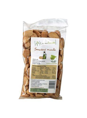 Mandle smažené v olivovém oleji, Lozano Červenka, 100 g