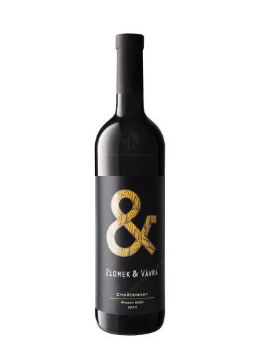 Chardonnay, Výběr z hroznů, 2019, Zlomek & Vávra, 0.75l