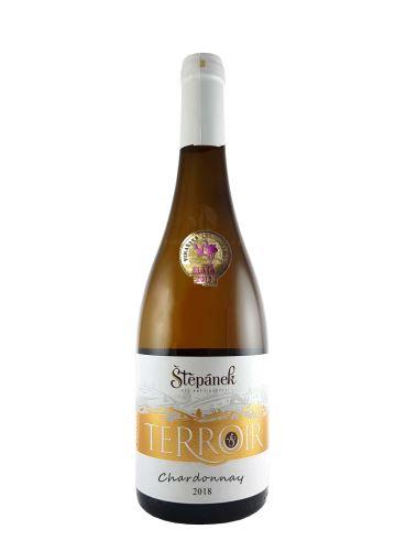 Chardonnay, Terroir, Výběr z hroznů, 2018, Vinařství Štěpánek, 0.75l