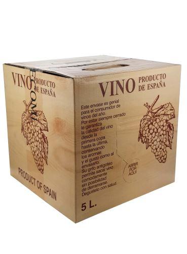 Tempranillo, Tinto Recomando, Bag in Box, 5 l