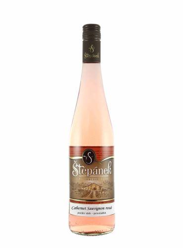 Cabernet Sauvignon rosé, Pozdní sběr, 2020, Vinařství Štěpánek, 0.75l