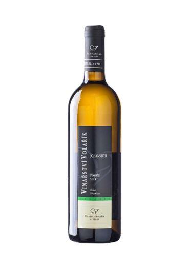 Johanniter, Organic, Výběr z hroznů, 2020, Vinařství Volařík, 0.75l
