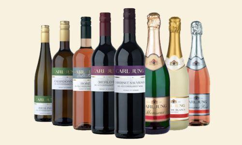 Nealkoholická vína Carl Jung