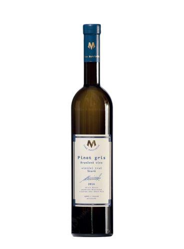 Pinot gris, Oranžové, BIO, Pozdní sběr, 2018, Víno Marcinčák, 0.75l
