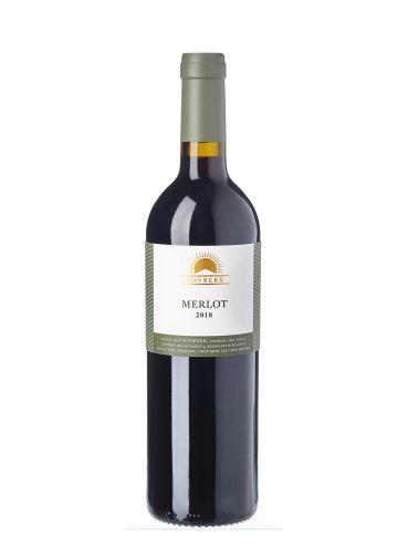 Merlot, Výběr z hroznů - barrique, 2018, Vinařství Sonberk, 0.75l