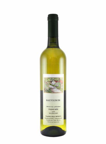 Sauvignon, Pozdní sběr, 2017, František Mádl - Malý vinař, 0.75l