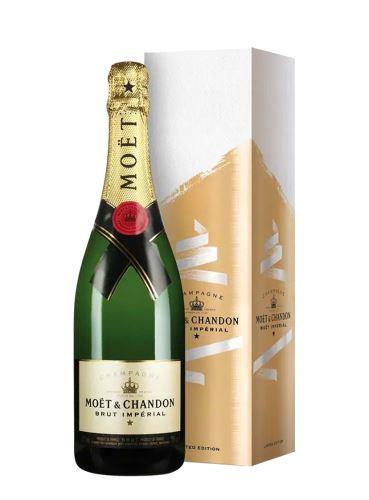 Champagne, Brut Impérial, Festive box, Moët & Chandon, 0.75l