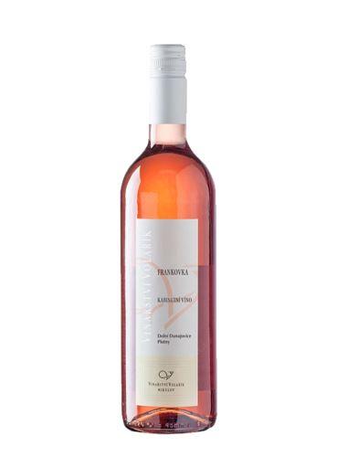 Frankovka rosé, Kabinet, 2020, Vinařství Volařík, 0.75l