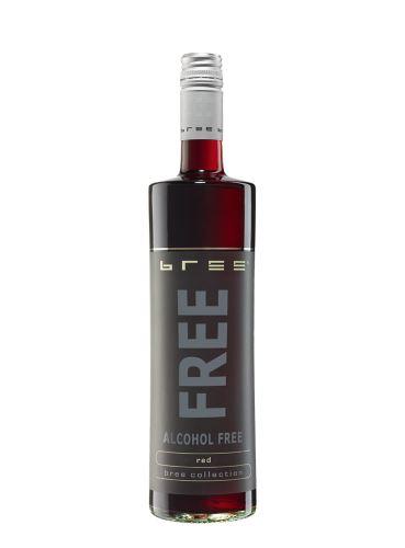 Bree Free Red, Nealkoholické víno, 0.75l