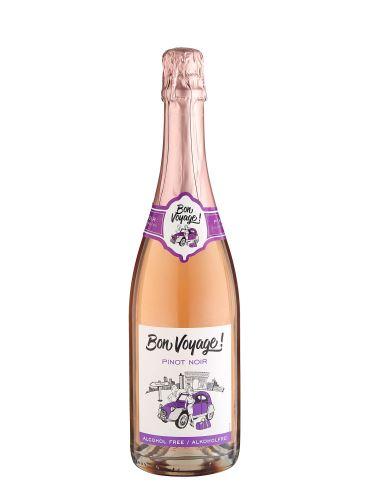 Pinot noir rosé, Nealkoholické šumivé víno, Bon Voyage, 0.75l