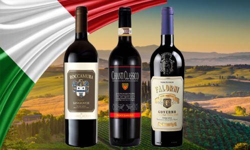 Supertoskánská vína a další novinky z Itálie