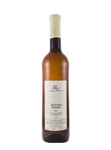 Ryzlink rýnský, Pozdní sběr, 2019, Vinařství Výmola, 0.75 l