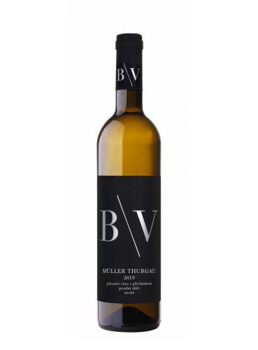 Müller Thurgau, Pozdní sběr, 2019, Vinařství B/V, 0,75 l