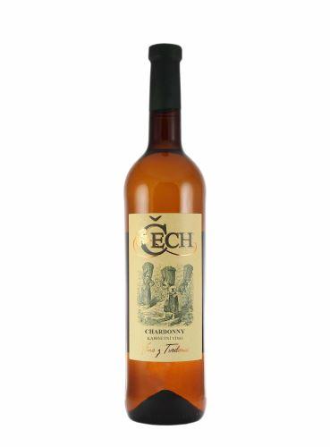 Chardonnay, BIO, Kabinet, 2020, Vinařství Čech, 0.75l