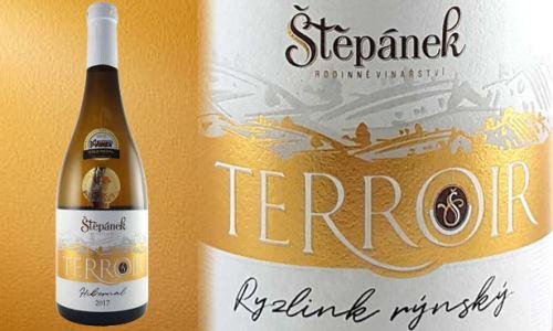 Nová řada Terroir z Vinařství Štěpánek