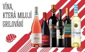 Grilovací balíčky a další vína, která milují grilování
