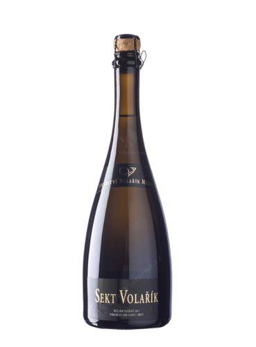 Sekt Volařík, Frankovka Blanc de Noir, Extra Brut, 2014, Vinařství Volařík, 0.75 l
