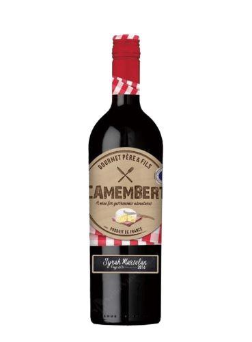"Syrah / Marselan, ""Camembert"", Pays d'Oc, 2019, Gourmet Pére & Fils, 0.75 l"