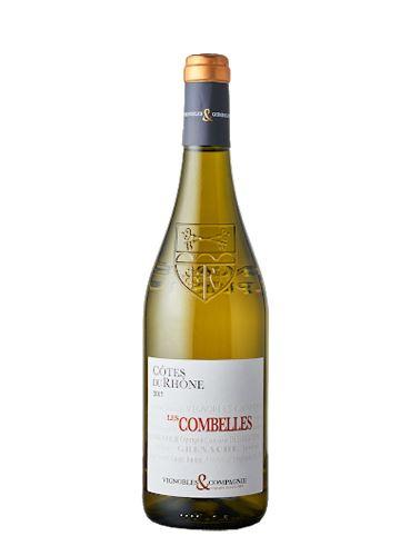 Côtes du Rhône Blanc, BIO, AOP, 2019, Les Combelles, 0.75l