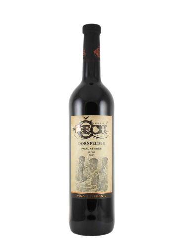 Dornfelder, BIO, Pozdní sběr, 2019, Vinařství Čech, 0.75l