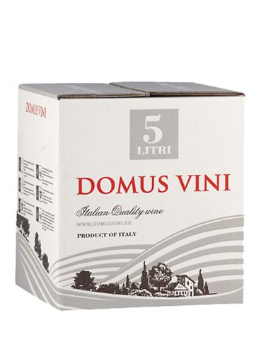 Primitivo, Bag in Box, IGT, Domus Vinii, 5 l