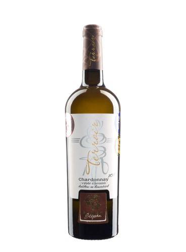 Chardonnay, Terroir, Výběr z hroznů, 2018, Štěpán Maňák, 0.75l