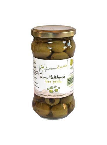 Zelené olivy Hojiblanca bez pecky, Lozano Červenka, 135 g