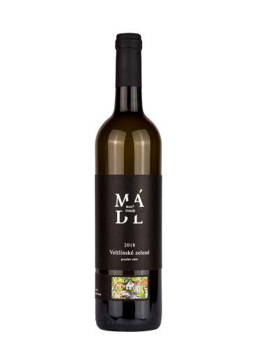 Veltlínské zelené, Pozdní sběr, 2018, František Mádl - Malý vinař, 0.75l