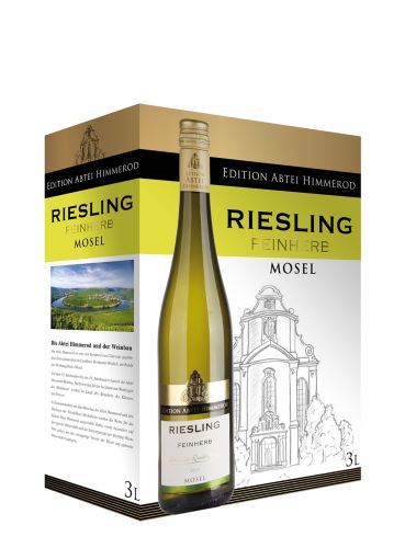 Riesling, Feinherb, Mosel Qualitätswein, Bag in Box, Abtei Himmerod, 3 l