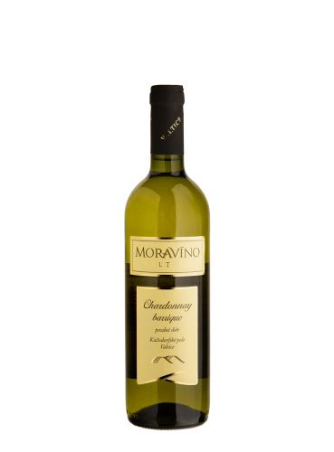 Chardonnay, Pozdní sběr - barrique, 2019, Moravíno, 0.75l