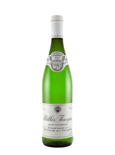 Müller Thurgau, Kabinet, 2019, Žernosecké vinařství, 0,75 l