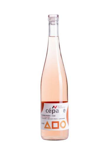 Rulandské modré rosé, Cépage, Pozdní sběr, 2017, Nové Vinařství, 0.75l