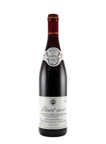 Pinot noir, Výběr z hroznů, 2018, Žernosecké vinařství, 0,75 l