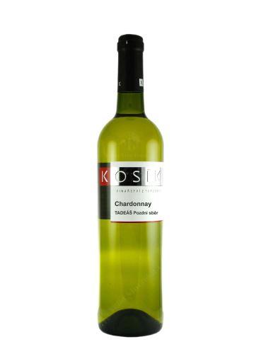 Chardonnay, Tadeáš, Pozdní sběr, 2020, Vinařství Kosík, 0.75l