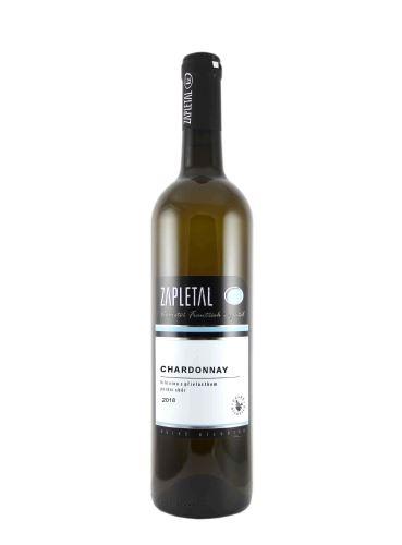 Chardonnay, Pozdní sběr, 2019, Vinařství František Zapletal, 0.75l
