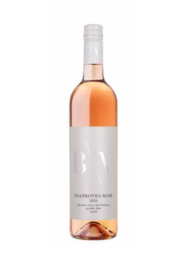 Frankovka rosé, Pozdní sběr, 2019, Vinařství B/V, 0,75 l