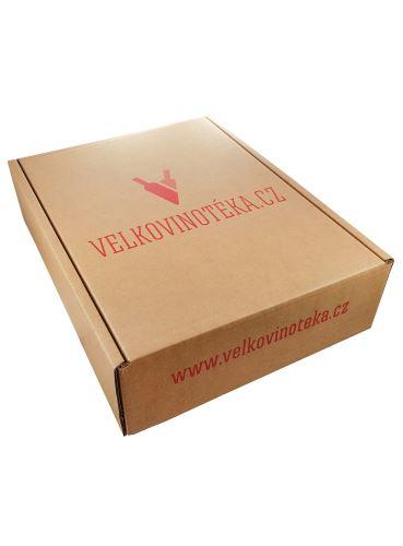 Kartonová krabice na 3 vína