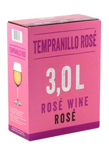 Tempranillo rosé, Bag in Box, 3 l