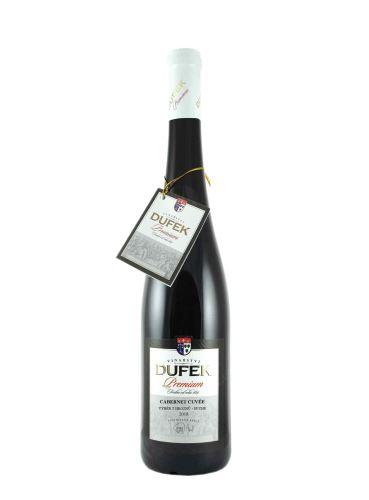 Cabernet cuvée, Premium, Výběr z hroznů, 2018, Vinařství Dufek, 0.75 l