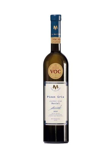 Pinot gris, VOC, 2018, Víno Marcinčák, 0.75l