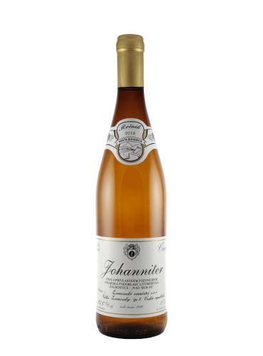 Johanniter, Pozdní sběr, 2019, Žernosecké vinařství, 0,75 l