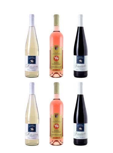 Degustační balíček Svatomartinských vín 2020
