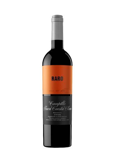 Raro, Finca Cuesta Clara, Reserva, DOC Rioja, 2015, Bodegas Campillo, 0.75l