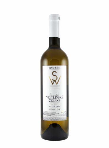 Veltlínské zelené, Exclusive, Pozdní sběr, 2019, Sing Wine, 0.75l