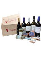 Bedýnka vybraných vín a delikates Velkovinotéka